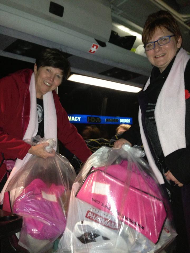 Pink Scarf Express