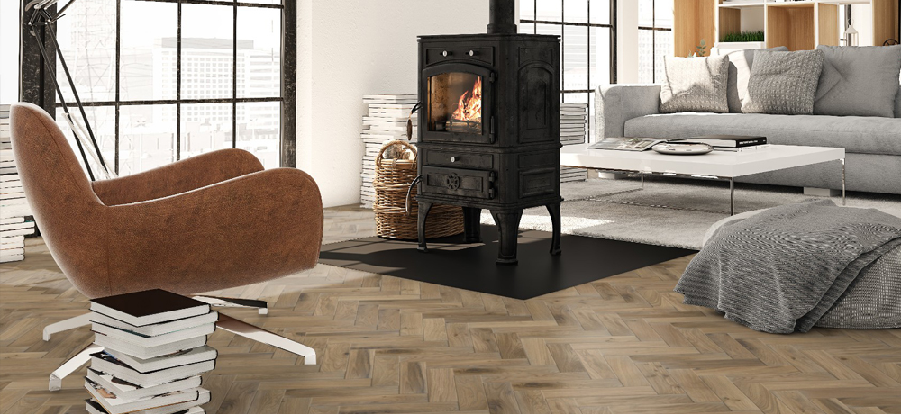 Timba 18mm Custom Parquet Oak Blocks Floor Flooring Patterned Floor Style Vogue Visual Touch