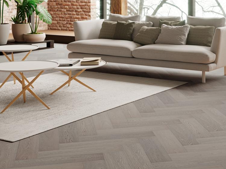 Timba 15mm 2G Herringbone Oak Floor Flooring Patterned Vogue