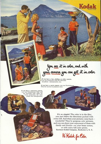 1950s kodak ad