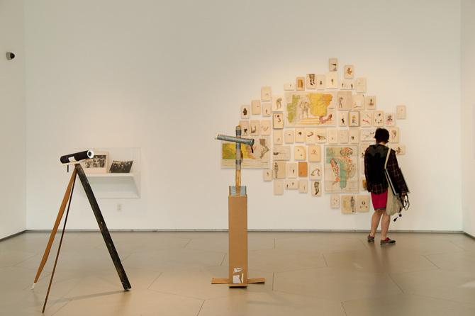Works by Paz Ortuzar, John Albok, and Firelei Baez