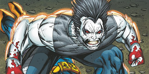 Cover detail from  Deathstroke  #11, art by Rob Liefeld. DC Comics.
