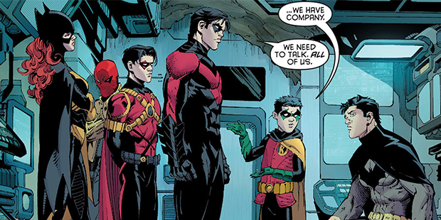 Panel detail from  Batman  #15, art by Greg Capullo. DC Comics.