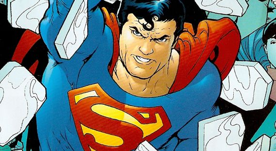 Cover detail from  Action Comics  #864, art by Kevin Maguire. DC Comics.