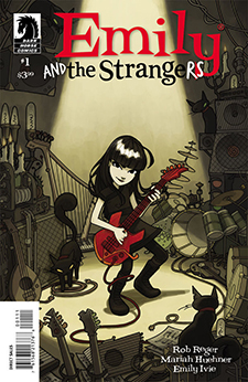 Emily and the Strangers #1, cover by Emily Ivie. Cosmic Debris Etc, Inc./Dark Horse Comics.