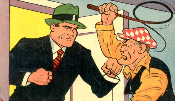 Cover detail from  Dick Tracy Monthly  #1. Tribune Media Services.