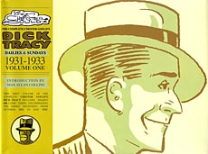 Cover to  Complete Chester Gould's Dick Tracy Vol. 1 , published by IDW.
