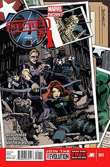Cover to  Secret Avengers  #1, art by Tom Coker. Marvel Comics.
