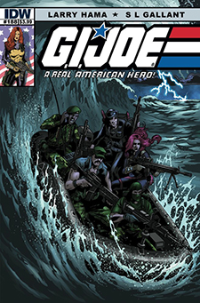Cover to  G.I. Joe: A Real American Hero  #188, art by S.L. Gallant. Hasbro/IDW Publishing.