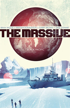 Cover art for The Massive Vol. 1. Brian Wood/Dark Horse Comics.