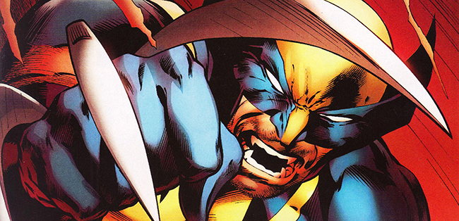 Cover detail from  Wolverine  #1, art by Alan Davis. Marvel Comics.