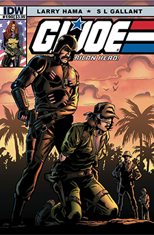 Cover to G.I. Joe: A Real American Hero #190. Hasbro/IDW.
