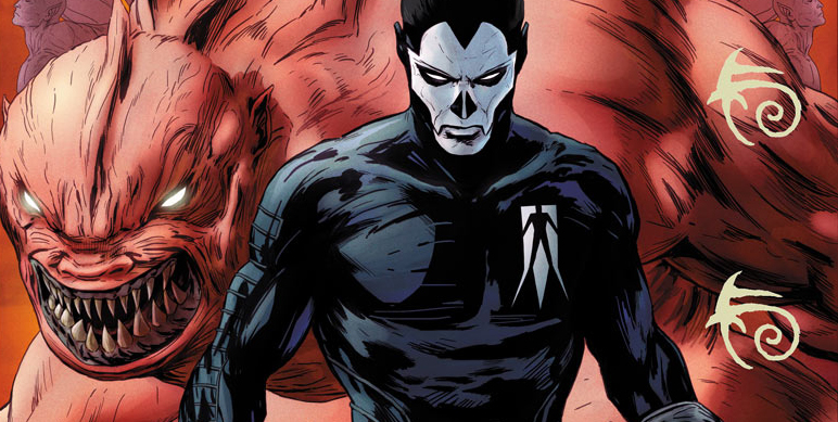 Cover detail from Shadowman #1, art by Patrick Zircher. Valiant.