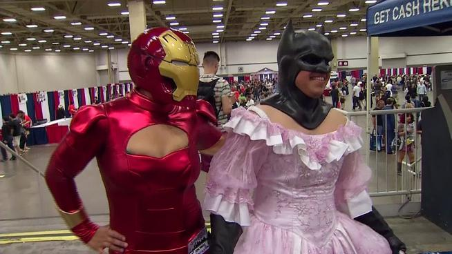 Gender-swapped cosplay at Dallas Comic-Con. Photo Credit: Unknown.