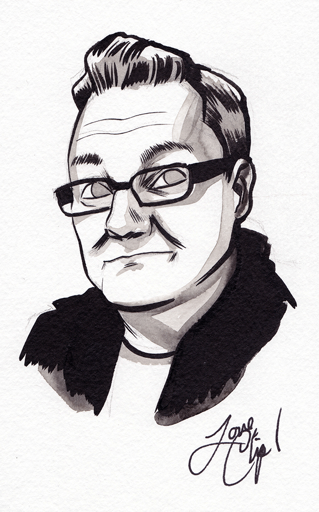 Not a  Sex Criminal . Portrait by Chip Zdarsky.