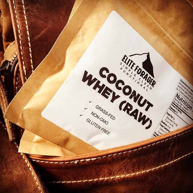 Coconut Whey single serve just launched on The Feed!! Check us out!! https://thefeed.com/product/elite-forager-coconut-whey/  #eliteforager #thefeedme #whey #functionalnutrition #cleaneating #simplenutrition #joshtrefethenphotography #outdoornutrition #eliteathletics
