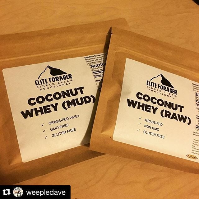 #Repost @weepledave ・・・ Trying out a new #CoconutWhey today from @eliteforager after my morning @steelbarbells #crossfit session. This #EliteForager #protein is smooth (trying the raw one today) and not overpowering with coconut taste. I like it! Would love to mix some in my eggs & see how that goes? I think it's #wholelifechallenge compliant too! Definitely worth checking out.