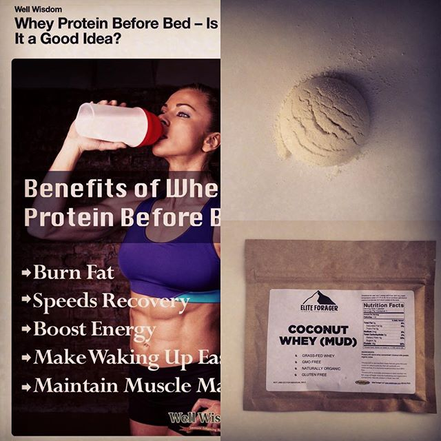 Interesting read on whey protein consumption before bed. Let me know your thoughts. Share this article by tagging @eliteforager for a free sample. http://pin.it/Mcoa3K8 #whey #coconut #simplenutrition #cleaneating #functionalnutrition #functionalfuel #EliteForager #CoconutWhey #protein