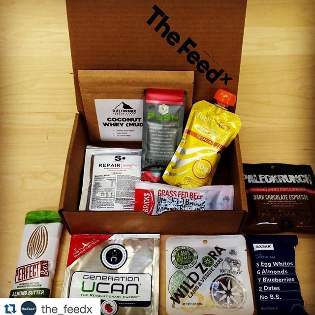 Check us out at The Feed. These guys have the best of the best.  #Repost @the_feedx ・・・ Tag your training partner and show them some love by telling us why they're the BEST! We will choose the best reply and supply you both with a FREE FeedX Box!  #eliteforager #rxbar #genucan #wildzora #stevespaleogoods #fuelforfire #sfh #bricksbars