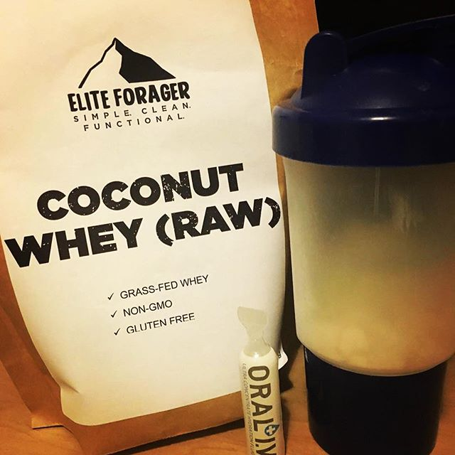 """#Repost @weepledave ・・・ My pre & post-ruck shake is locked & loaded with a hydration kicker! BOOM!!! Wins all around! @eliteforager + @oraliv = 💪🏼&💧 @weeplearmy has some good discounts including these codes: """"weeplearmy20"""" = 20% off Oral-IV www.oraliv.com """"WEEPLEARMY"""" = 15% Elite Forager www.eliteforager.com #eliteforager #oraliv #GORUCK #spartanrace #Spartan #ocr #SpartanOK #protein #hydration #coconut #wheyprotein #gainz #ruck #rucklife #WeepleArmy #WeepleFamily #ArmyOfFun #warriordash #toughmudder #battlefrog #mudrun #crossfit"""