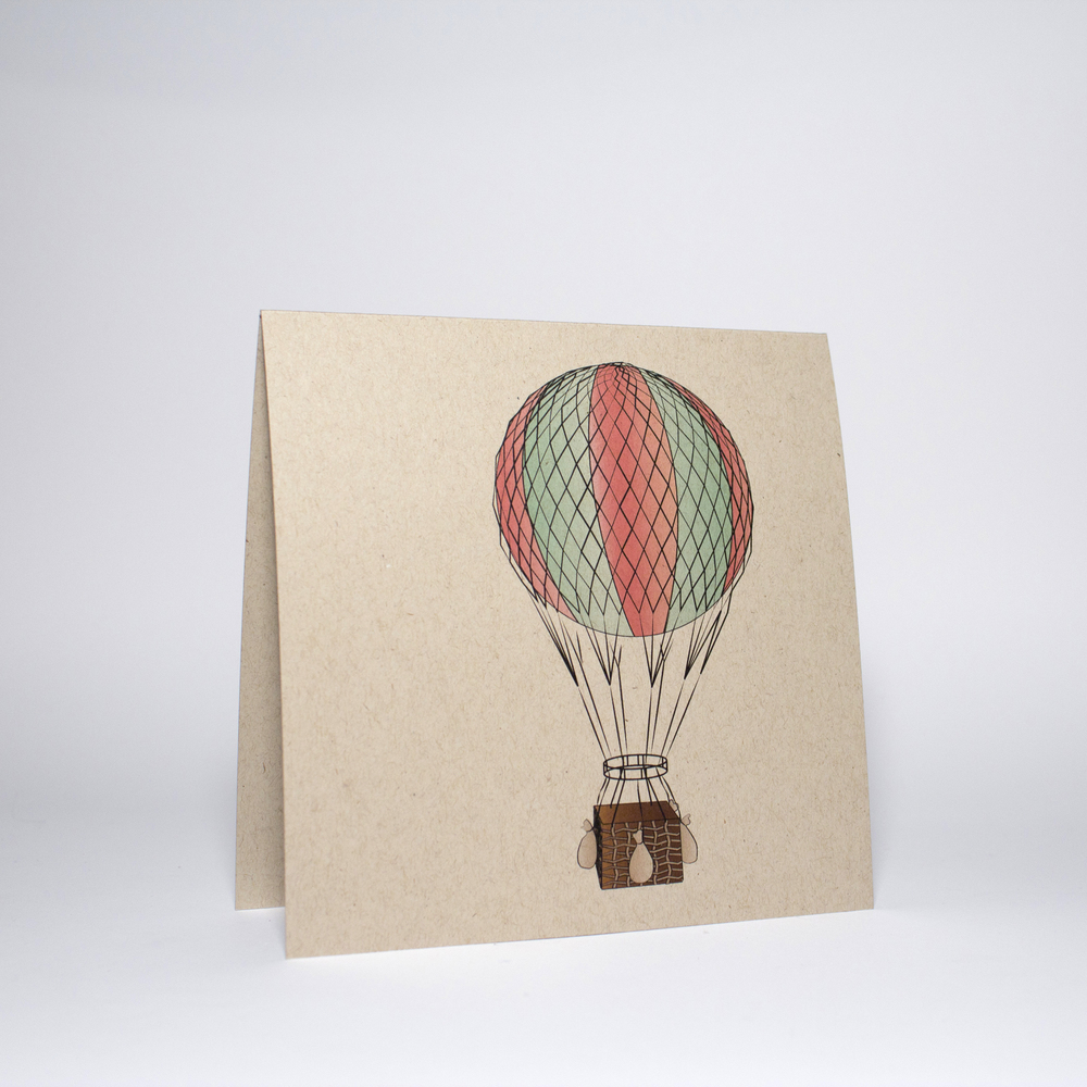 Mint air balloon