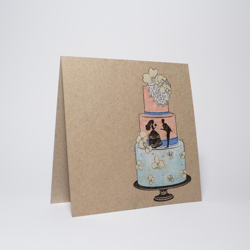 Wedding cake (flowers)