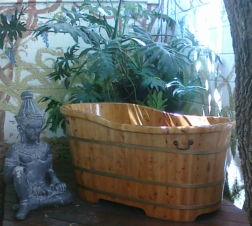 Herbal Soaking Tub