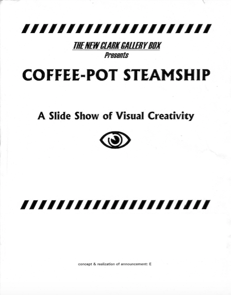Coffee-Pot Steamship © 2001 Maksymilian Kapelanski