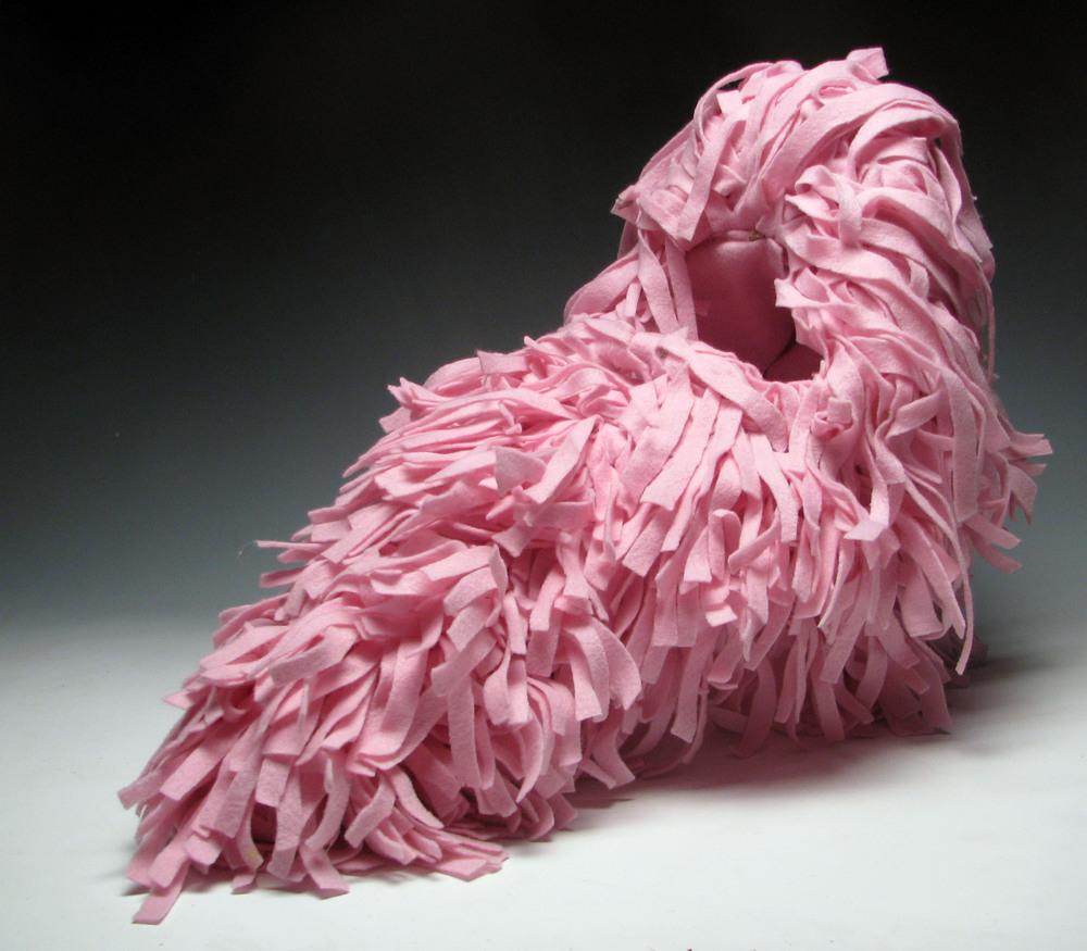 Pink Beard Helmet