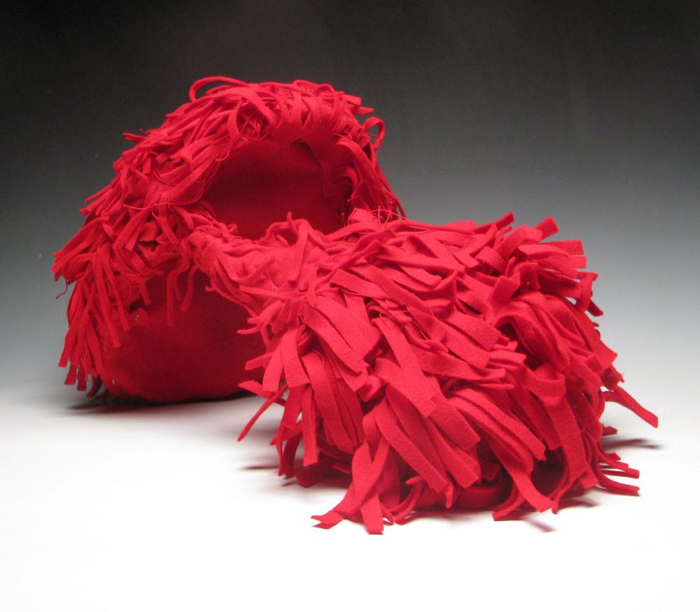 Red Beard Helmet