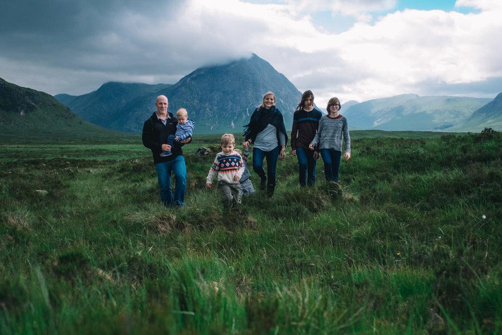 Family in Glencoe