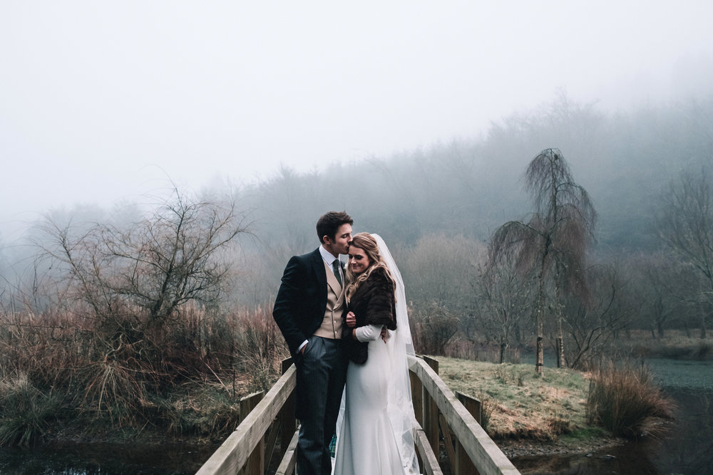 Drumtochty Castle Outdoor Wedding Scotland