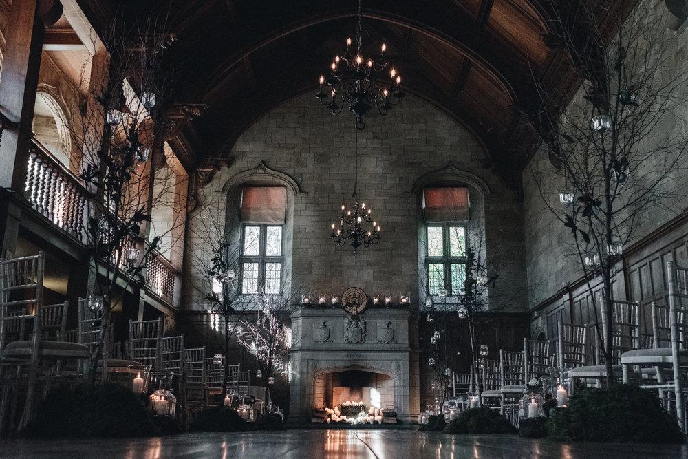 Ballroom of Achnagairn Estate