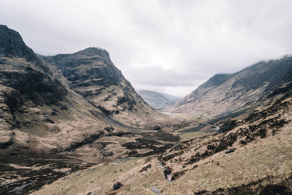 Glencoe valley