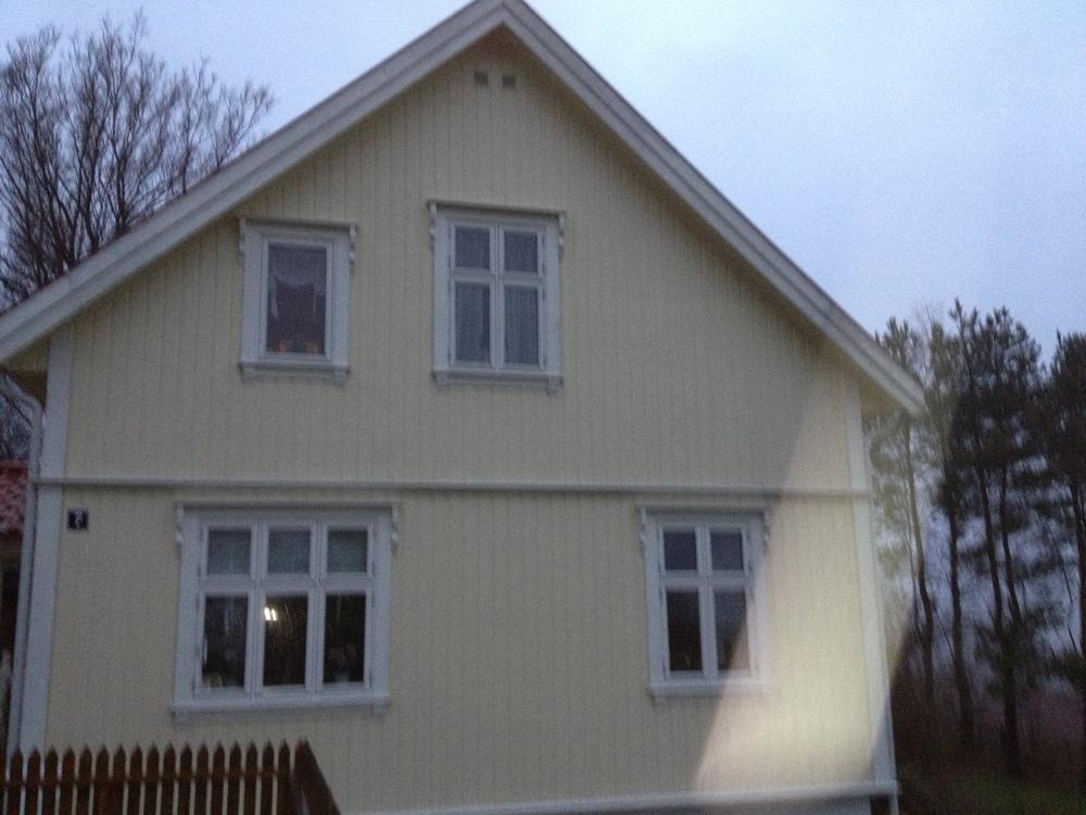Ny ytterkledning og vinduer