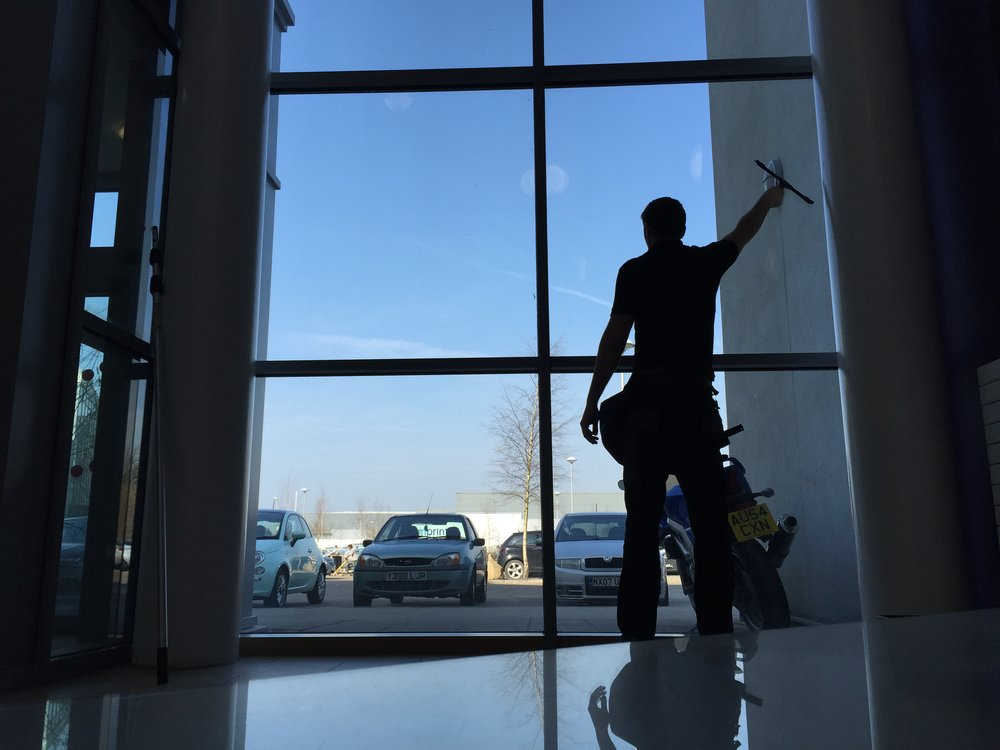 Commercial Window Cleaning 3