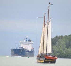 Liana's Ransom just isn't a sailing vessel.