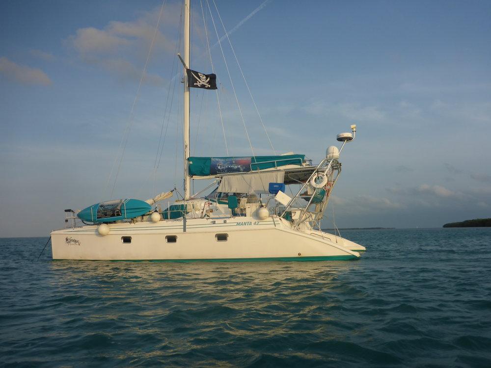 S?V Tortuga at Boca Grande Key