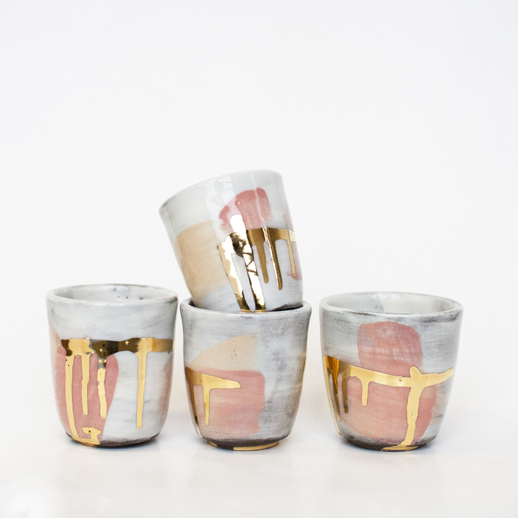 22 Karat Climax - Ceramic Cups available in webshop