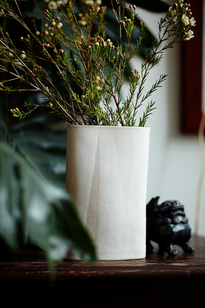 No. White Mountain Bolt Vase