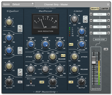 Auria DAW for iPad: mixer