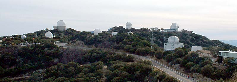 Kitt Peak National Observatory is the world's largest collection of astronomical instruments. (Image credit: Wikipedia)