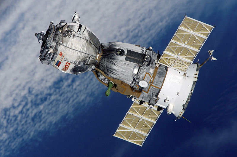 The Soyuz spacecraft is our only link to the International Space Station. (Image source; PD-NASA)
