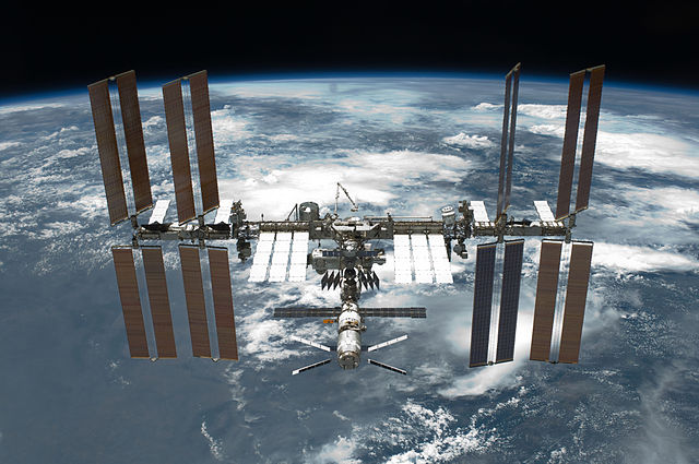 The International Space Station is the most expensive construction project in human history.  Should we build another?  (Image credit: NASA)