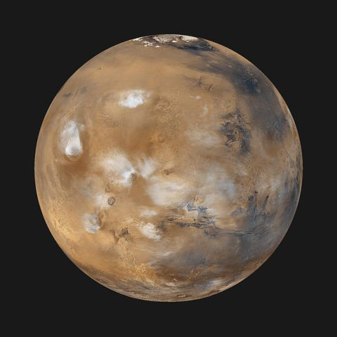 Mars will disappear behind the Sun for the next month. (Image credit: NASA)