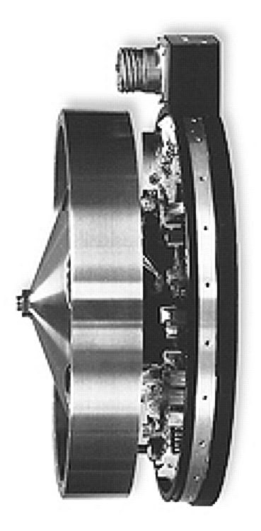 Reaction wheels, like this one, are used to orient all modern spacecraft.  (Image credit: NASA)