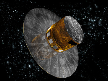 The Gaia spacecraft will launch later this year to measure the positions of many stars.  (Image credit: ESA)
