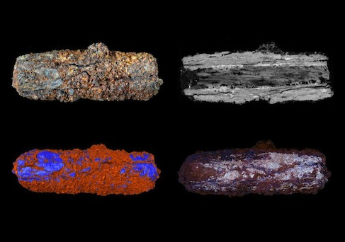 Ancient Egyptian iron beads were millennia before their time.  To overcome technological limitations, ancient Egyptians made these beads from a meteorite.  (Image credit: The Open University)