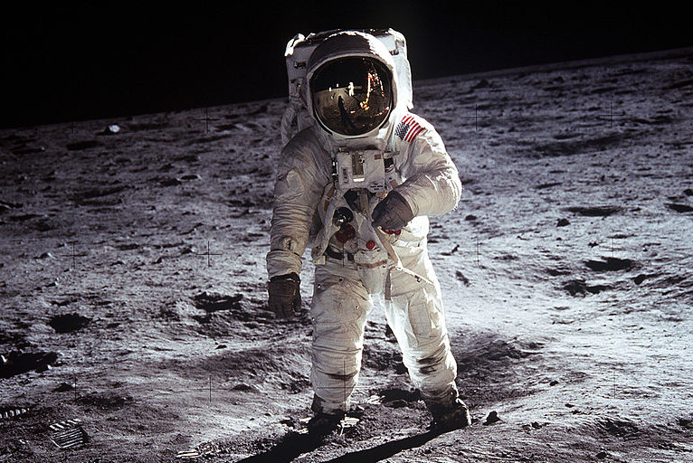 We've already been to the Moon.  Let's set our sights a bit farther... (Image credit: NASA)