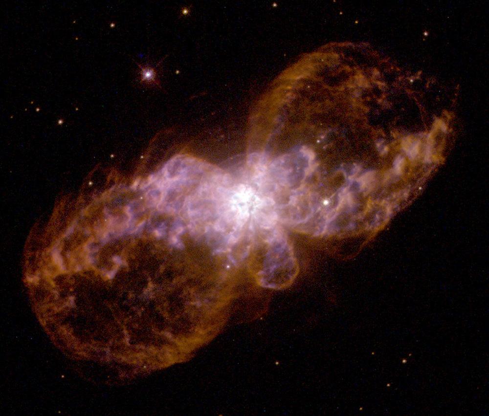 Bipolar planetary nebula Hubble 5. (Image credit: NASA/ESA)